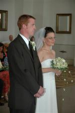 Jelikoz nase prvn svatba se odehrala 27.11.2002 stejne byl zenich nervozni.