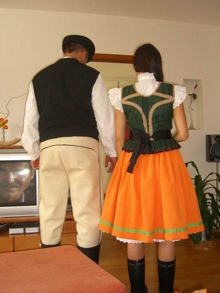 Olise - skúška kroja