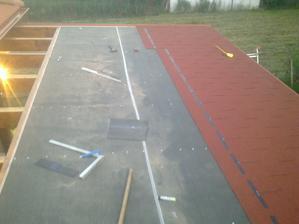 strecha na terase