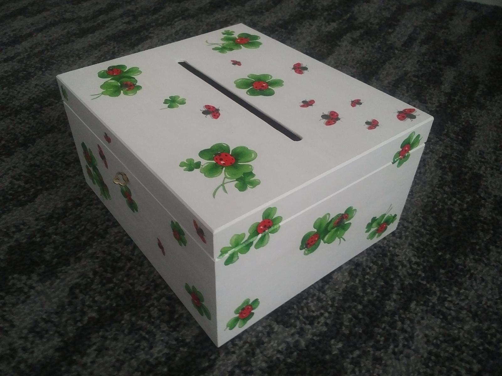 Uzamykatelna krabicka na obalky - Obrázok č. 1
