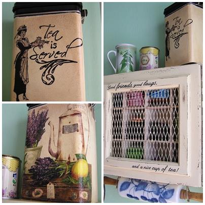 Modrý valček na mieste...a tiež urobená aj nádoba na čajík, taký ten domáci, čo si zarobím, keď nazbieram potrebné bylinky :)