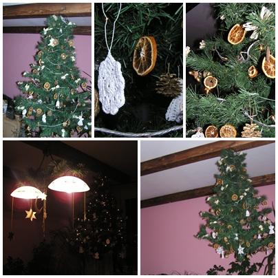 Stromček v obývačke