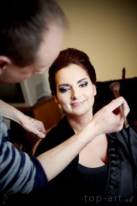 Boris Bordács make-up & hairstyle - svadobné líčenie a účes - photo: terka plesova, licenie/uces: boris