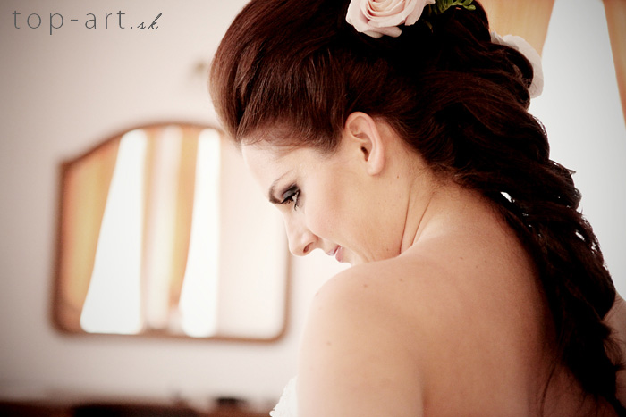 Boris Bordács make-up & hairstyle - svadobné líčenie a účes - líčenie/účes: boris, photo: www.top-art.sk