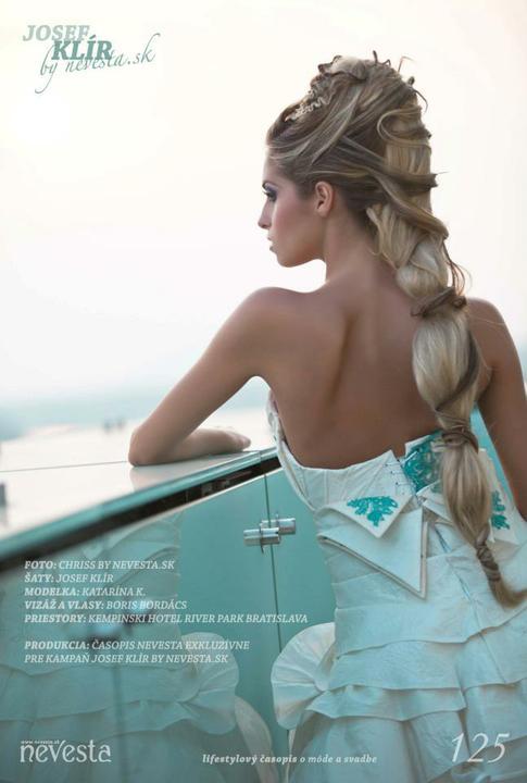 Boris Bordács make-up & hairstyle - svadobné líčenie a účes - photo: www.nevesta.sk, licenie/uces: boris