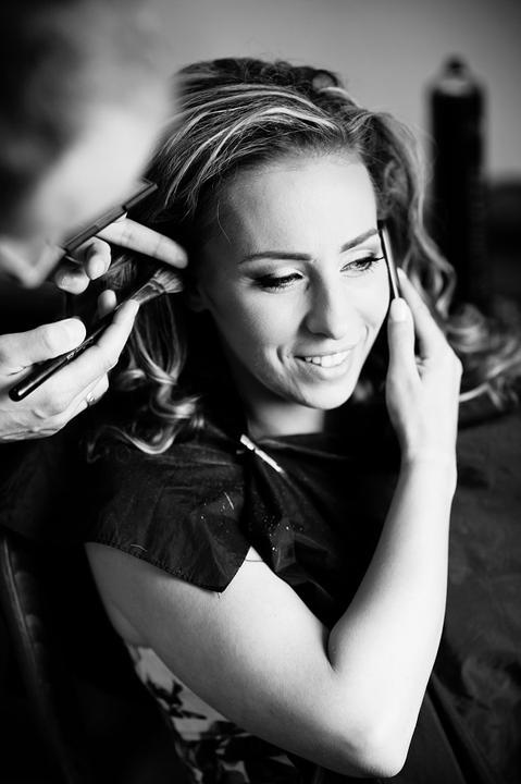 Boris Bordács make-up & hairstyle - svadobné líčenie a účes - photo: www.zahumensky.sk