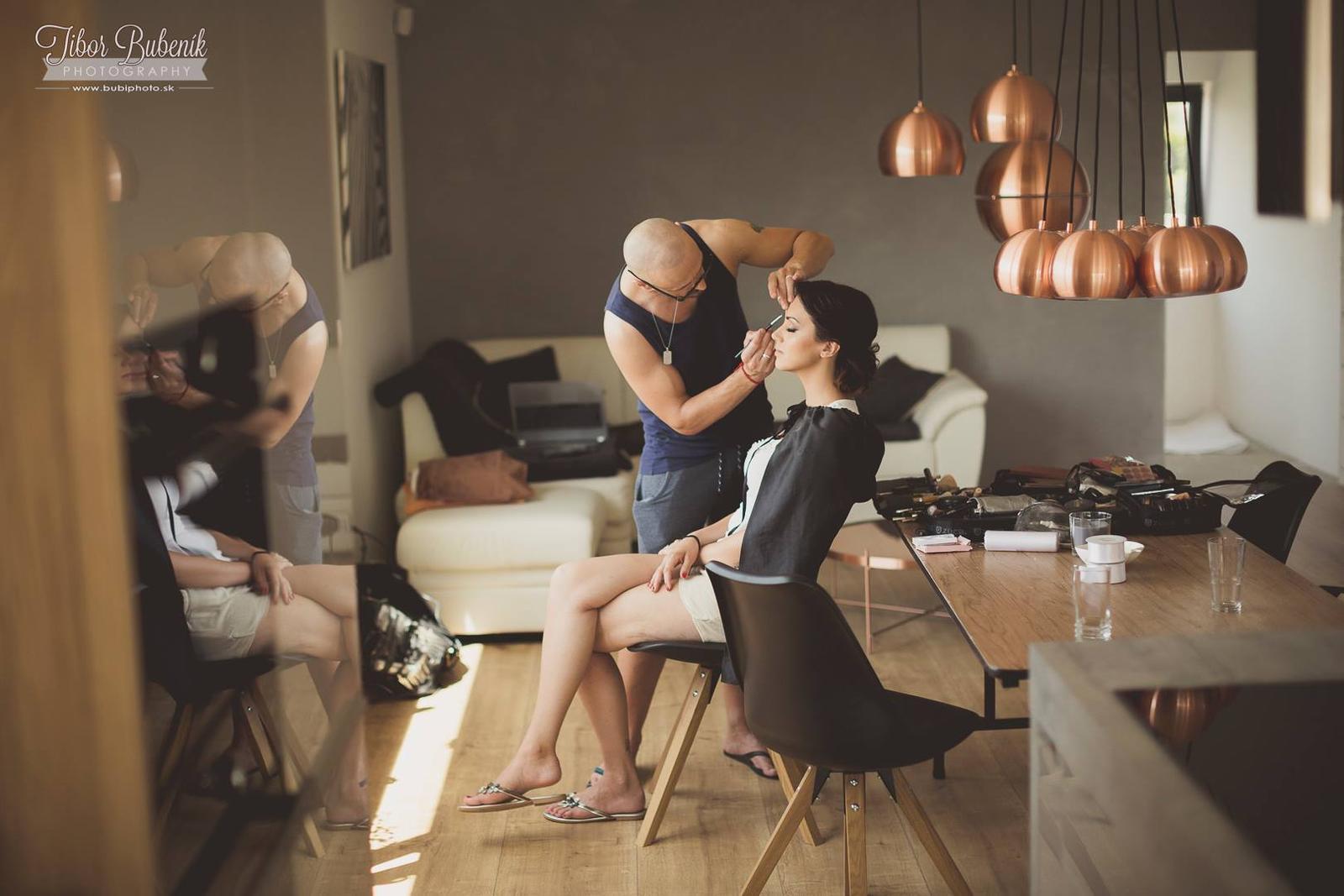 Boris Bordács make-up & hairstyle - svadobné líčenie a účes - Obrázok č. 23