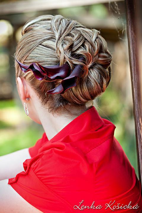Boris Bordács make-up & hairstyle - svadobné líčenie a účes - photo: lenka košická; líčenie a účes: boris