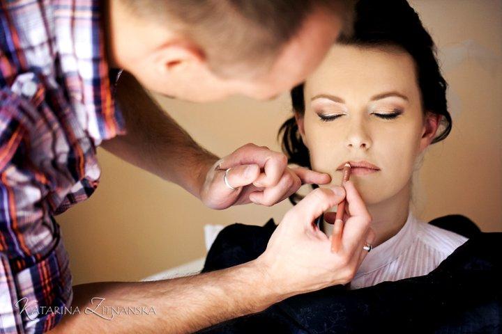 Boris Bordács make-up & hairstyle - svadobné líčenie a účes - photo: katarína žitňanská; líčenie/účes: boris
