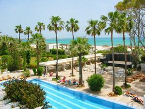 náš hotel v Hammamatu na svatební cestu