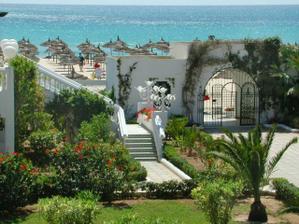 hotel v  Hammametu Tunisko - svatební cesta v létě