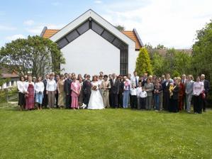Celá velká rodina (většina od nevěsty), od ženicha nepřijela :(