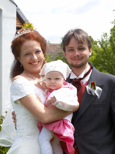 Romča{{_AND_}}Jan - Že by rodinné foto? Bohužel Je to malá neteřinka
