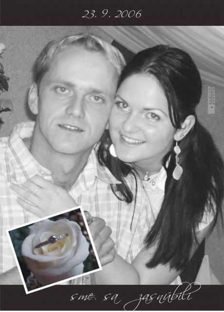 Lucia Pfeifferová{{_AND_}}Marián Blažek - nase zasnuby po 6 rokoch chodenia a svadba po 7 rokoch