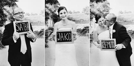 Svatba jako řemen, svatební oznámení potvrzeno!