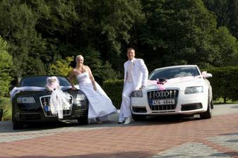naše autíčka (jen na svatbu)