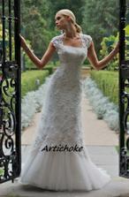 tieto svadobne saty chcem...su jednoduche a nadherne...