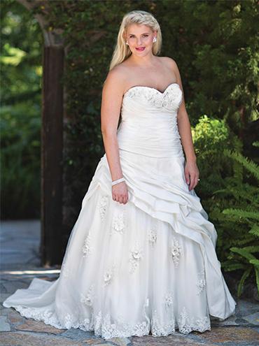 Svatební šaty Kenneth Winston Femme 3368 - Obrázek č. 1
