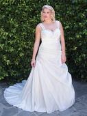 Svatební šaty Kenneth Winston Femme 3363, 52