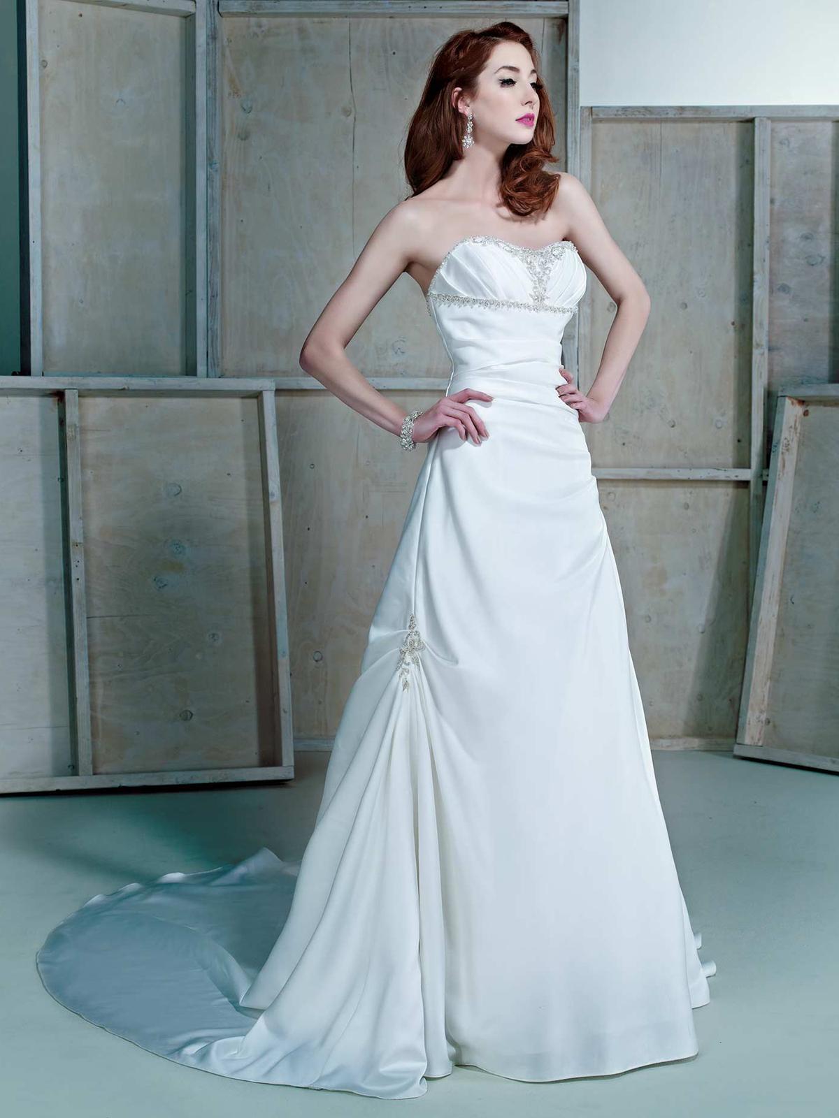 Svatební šaty Ella Rosa BE168 - Obrázek č. 1