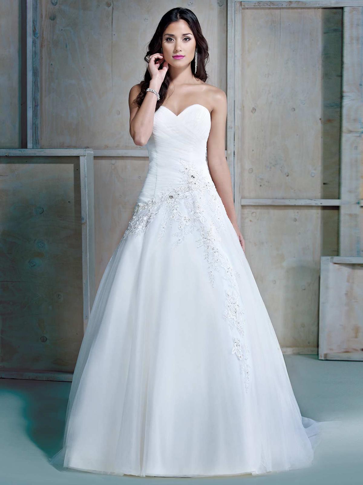 Svatební šaty Ella Rosa BE160 - Obrázek č. 1