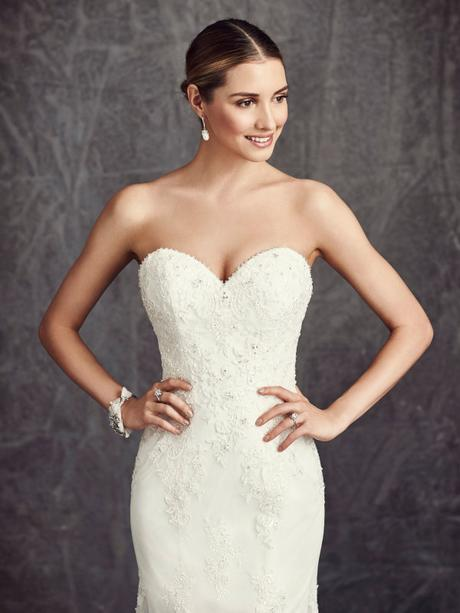 Svatební šaty Ella Rosa BE281 - Obrázek č. 2