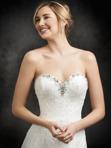 Svatební šaty Ella Rosa BE235 - Obrázek č. 2