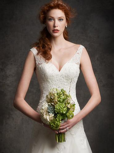 Svatební šaty Ella Rosa Gallery GA2250 - Obrázek č. 3