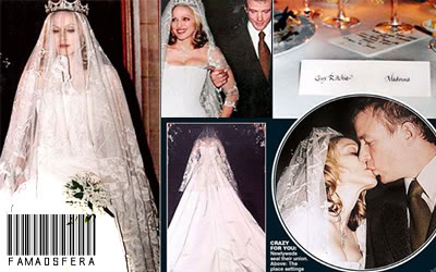 Svadby známych - Madonna
