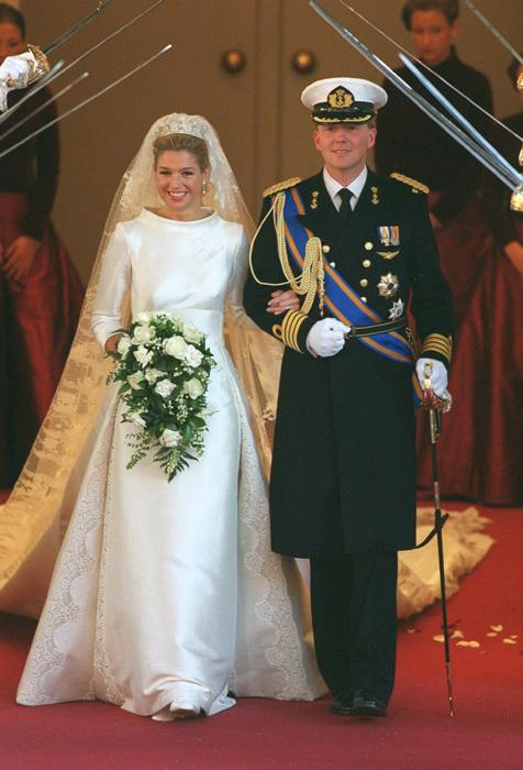 Svadby známych - Holandská kráľovná Maxima