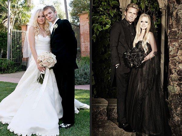 Svadby známych - Avril Lavigne