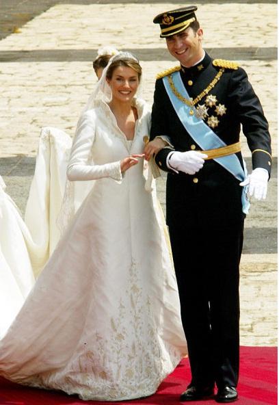 Svadby známych - španielska princezná Letizia