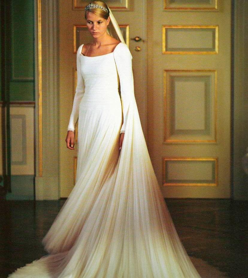Svadby známych - nórska princezná Mette Marit