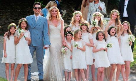 Svadby známych - Kate Moss