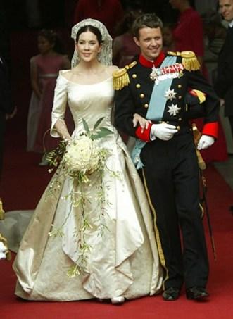 Svadby známych - dánska princezná Mary