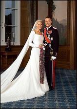 nórska princezná Mette Marit