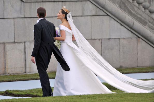 Svadby známych - švédska princezná Victoria