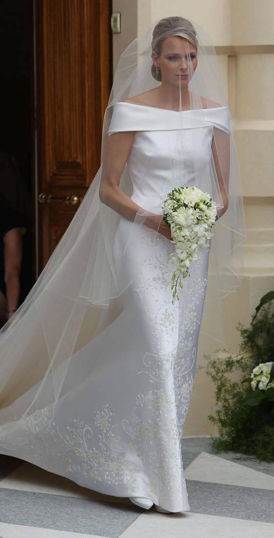 Svadby známych - monacká princezná Charlene