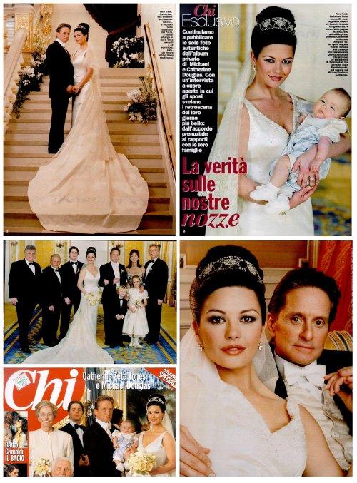 Svadby známych - catherine zeta jones a michael douglas