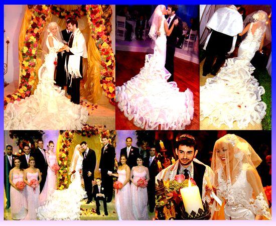 Svadby známych - Christina Aguilera & Jordan Bratman