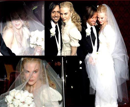Svadby známych - Nicole Kidman