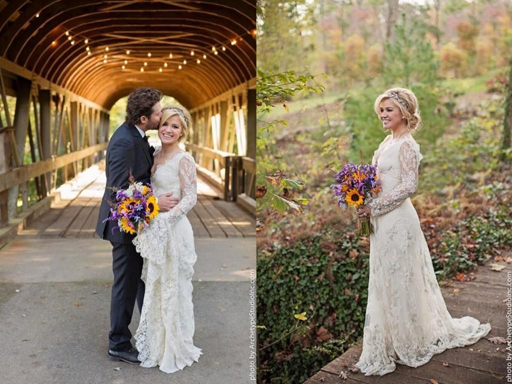 Svadby známych - Kelly Clarkson