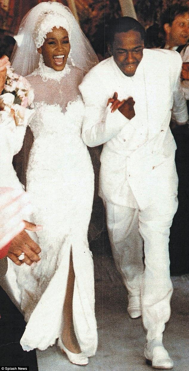 Svadby známych - Whitney Houston