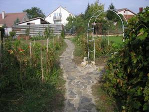 Začali sme v záhrade