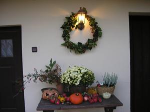 Terasa na jeseň