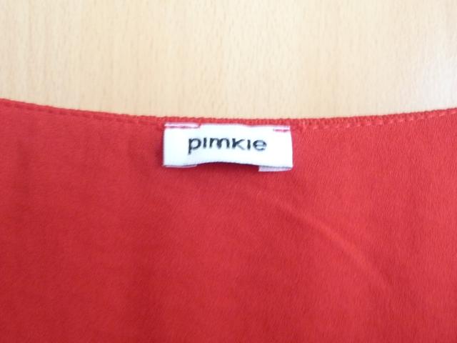 Nenosený červený top značky Pimkie - Obrázok č. 3