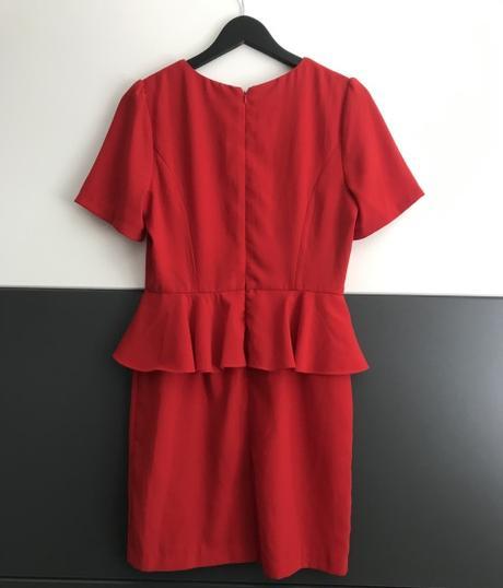 Červené šaty značky Forever21 - Obrázok č. 2