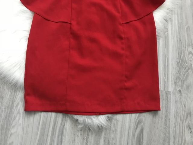 Červené šaty značky Forever21 - Obrázok č. 4