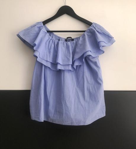 Modrá blúzka/top značky Reserved - Obrázok č. 1
