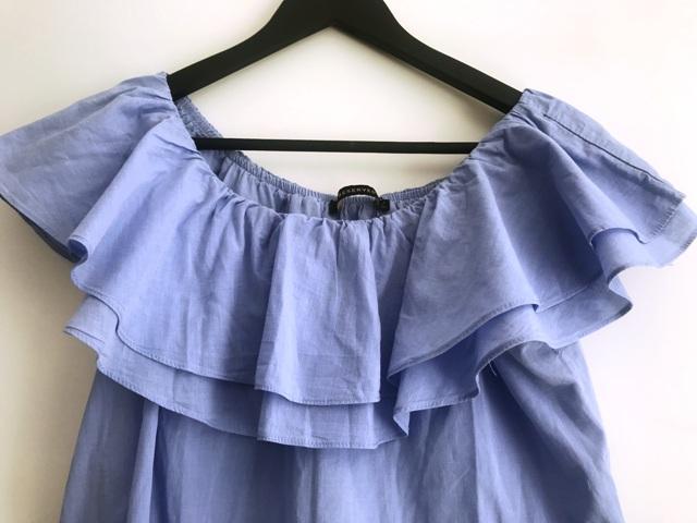 Modrá blúzka/top značky Reserved - Obrázok č. 2